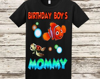 Finding Nemo Mom Shirt - Finding Nemo Dad Shirt