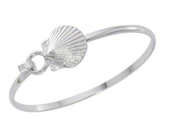Scallop Shell Cuff Bracelet