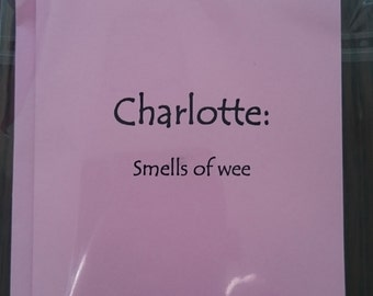 Charlotte/Name definition/card/ Funny