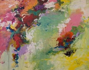 Abstract, Art print, Canvas print, original oil painting, Modern art, Home decor