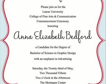 Personalized Invitation Sets