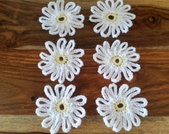 Crochet Daisy Flowers
