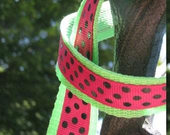 Summer Watermelon Dog Leash
