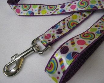 Wonka Style Candy Dog Leash