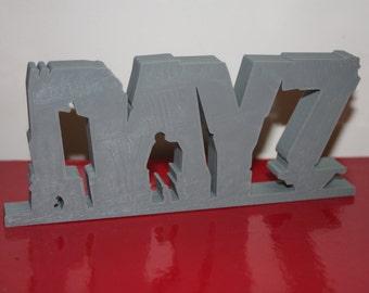 3D DayZ logo