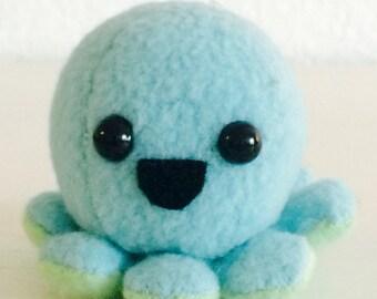Baby octopus plush