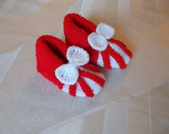 Baby Shoes, Baby Booties, baby shoes, handmade baby shoes,knitted baby slippers