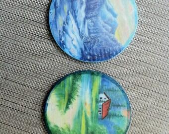 Summer & Winter cap pads
