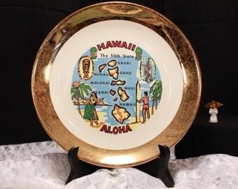 The Aloha collector plate.