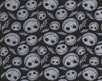 Jack on Black Cotton Jersey