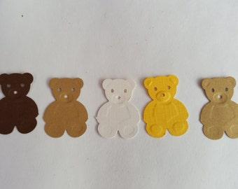 Teddy Bear Confetti, Baby Shower Confetti, Party Confetti, Party Decorations, Baby Shower decorations, Birthday Party, Teddy Bear Theme, 100