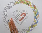 A guided Bible colouring prayer/meditation on Protection/Encircling. From Psalm 139