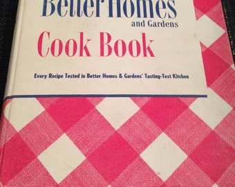 Better Homes and Gardens Cook Book 1948
