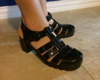 Woven Jelly Sandals Size US 8 UK 6 EUR 39