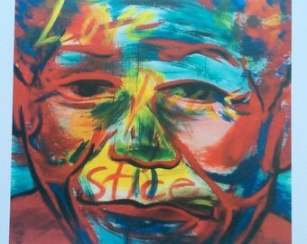 "11""x14""- Art Print of Painting ""Mandela"""