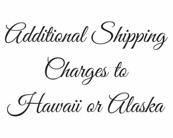 Shipping to Hawaii or Alaska
