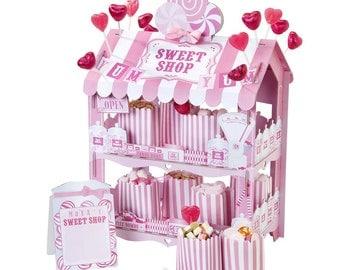 Pretty Sweet Shop Treat Stand