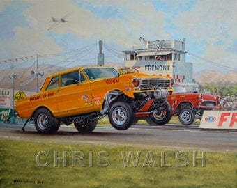 Fine Art Prints -Fremont Drags by artist Chris Walsh