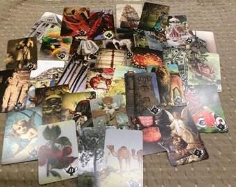 ATTIC DECK. Tea Cards. Oracle Cards. Fortune Telling. Tea Leaf Readings.