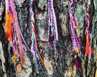 customized Gypsy hair wraps