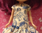 Where the Wild Things Are Dress for Blythe