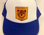Youth Trucker Hat- with Bear Patch- Kids Trucker Hat