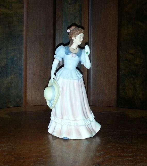 homco home interiors lady camille figurine by home interior figurines smalltowndjs com