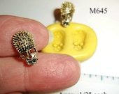 Skull Flexible Mold For Resin Polymer Clay Food Safe Fondant Chocolate Silicone  M645