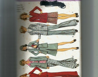 Simplicity Misses' Unlined Cardigan Jacket , Skirt, and Pants Pattern 5921