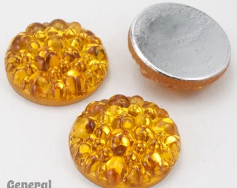 18mm Topaz Bubble Cabochon #FGB038