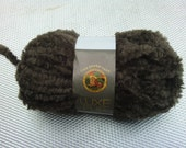 ion Brand Luxe FUR JAVA #126 Brown Super Bulky CHENILLE 1.75 oz. 50 Grams