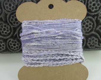 Small Alkanet Lilac Natural Dye Textured Thread Pack