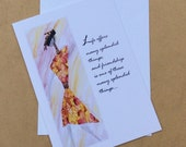 Ethnic Mixed Media Friendship Greeting Card