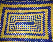 "Crochet Lap Throw/Baby Blanket, Approx. 36"" X 43"" Rectangle"