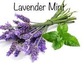 lavender Mint stress ball. custom list for karlee only