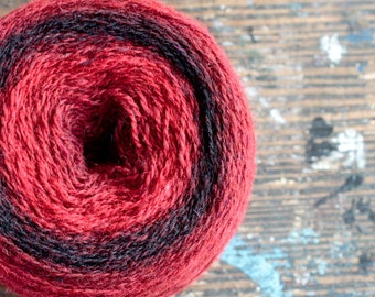 Pure wool knitting yarn - 98 g