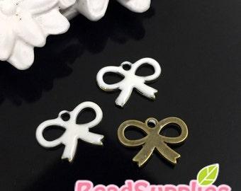 CH-EX-03017W - Puffy petite ribbon, white, 6 pcs
