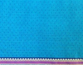 fabric, turquoise cotton, double border, saree fabric, ethnic fabric, India