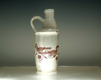 Milk Jug Vase - Mister Westminster and Love Birds - Home Decor