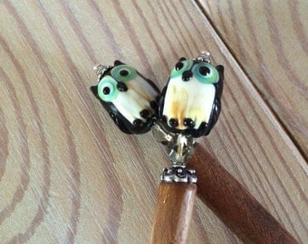 Hoot Owl Hair Sticks