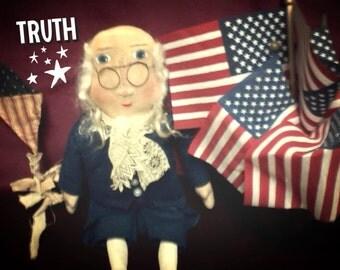 Primitive Americana Ben Franklin
