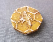 Honeycomb Bee Pendant (1)
