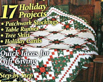 Quilt patterns | Etsy : quilt it for christmas magazine - Adamdwight.com