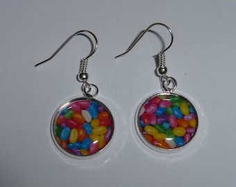 Jelly Beans (Round) Earrings