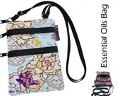 Essential Oils Ella Bella Bag by Borsa Bella - Waterproof lining fabric - Lunar Blue Fabric