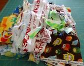 Destash - Fabric Selvages & Scraps