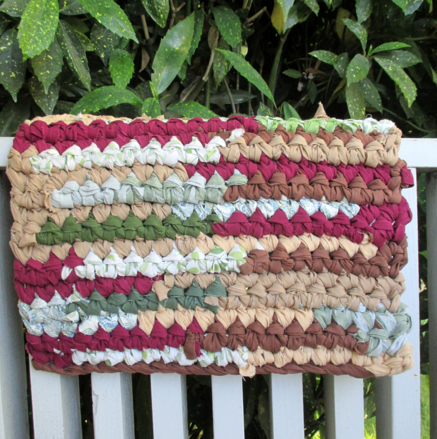Rag Rag Rug Bathroom Rug Bath Mat Pet Mat By MoonLightSally