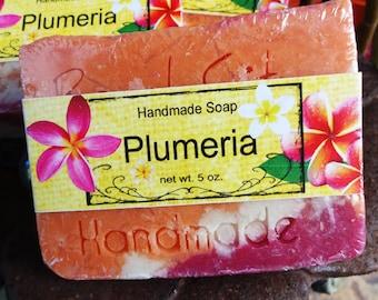 Plumeria Handmade Cold Process Soap