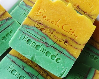Lemon Geranium Handmade Cold Process Soap