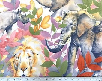 Alexander Henry FABRIC - Kendi - Safari - Soft Indigo